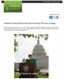 Shaheen Introduces Bipartisan National Energy Efficiency Strategy (May 19, 2011)