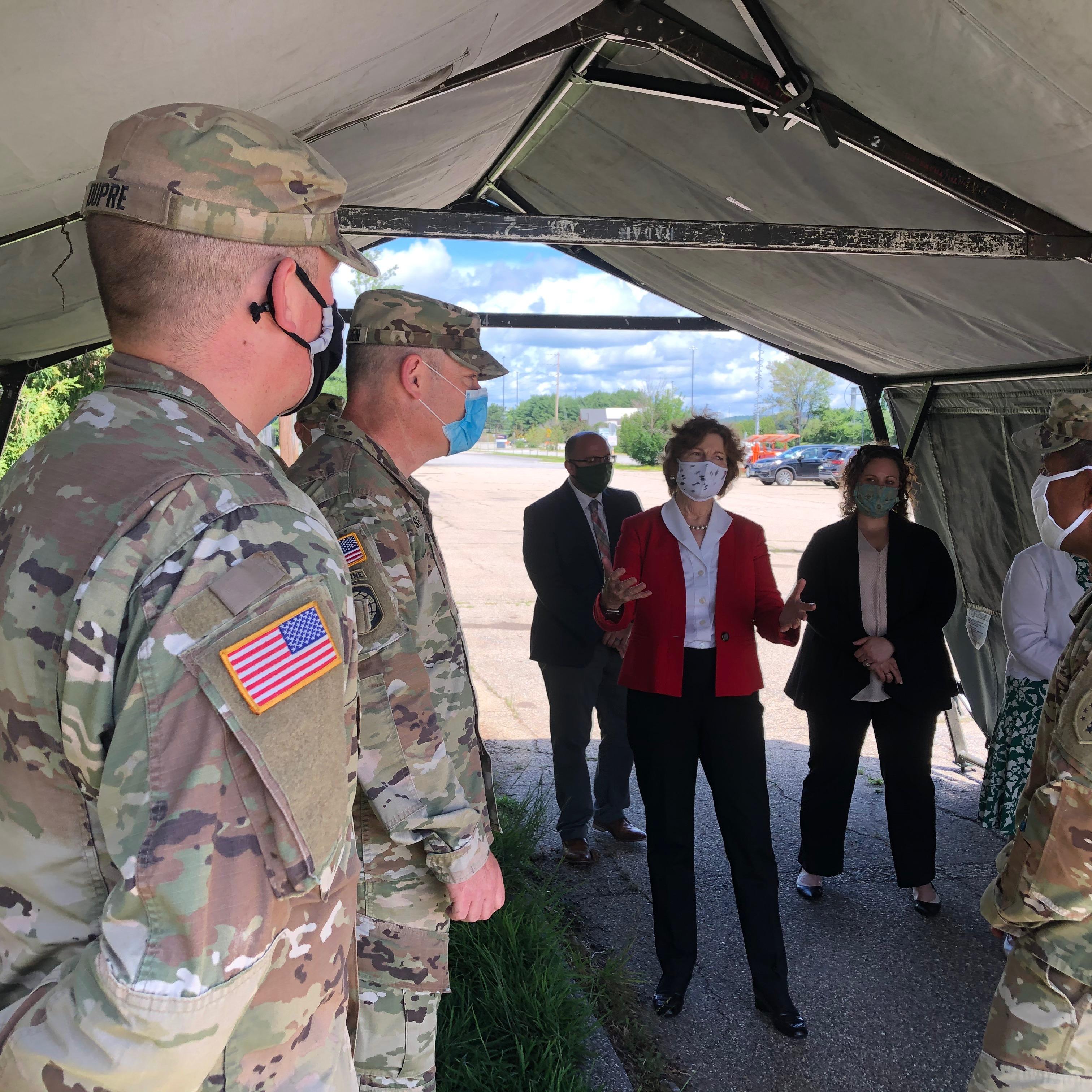 7.14.20 National Guard visit 1