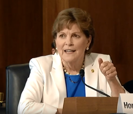Senator Shaheen testifies during the Senate Energy and Environmental Resources Hearing