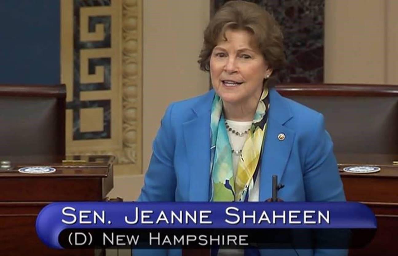 CJS on senate floor may