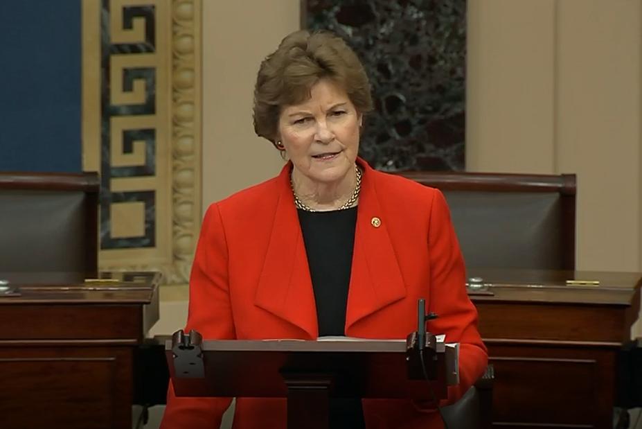 Shaheen speaks on the Senate Floor