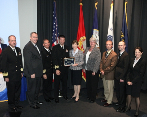 Shaheen Presents Award to Portsmouth Shipyard for Achievements in Energy Efficiency