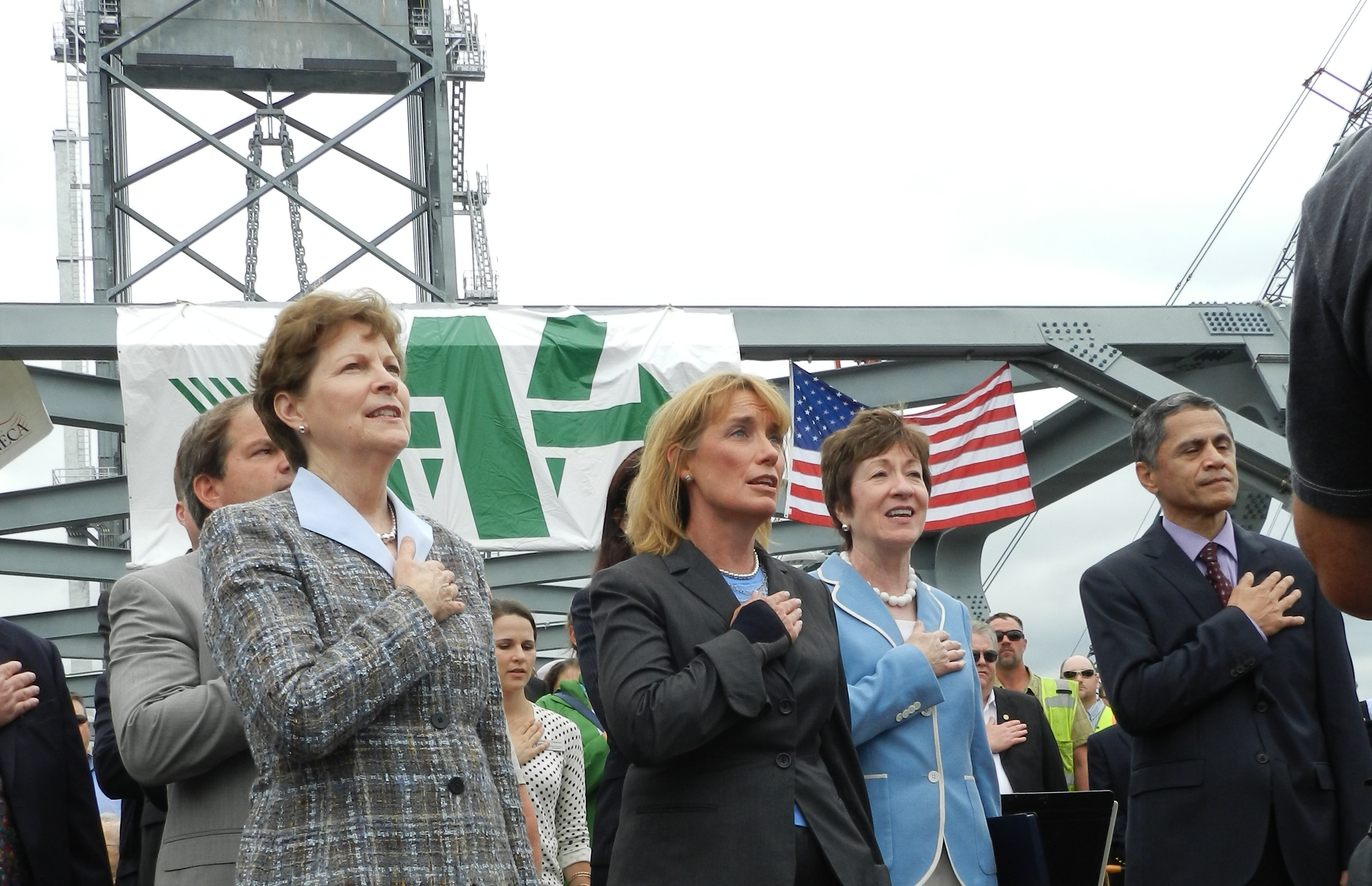 SHAHEEN CELEBRATES OPENING OF NEW MEMORIAL BRIDGE