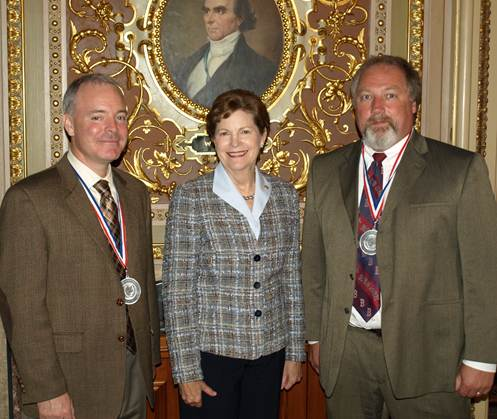Sen. Shaheen with 2013 Principals of the Year