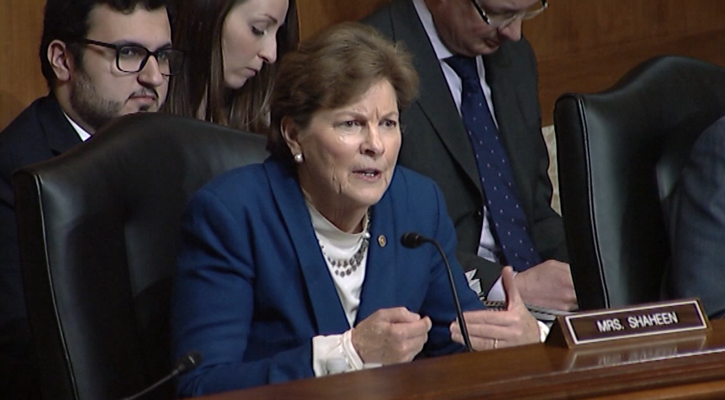 Shaheen at E&W Appropriations Subcommittee hearing