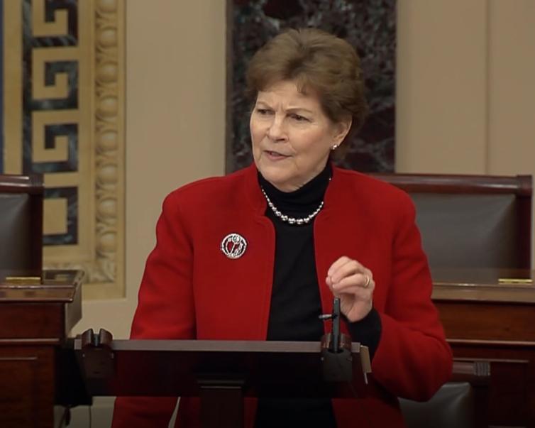 Senator Shaheen delivers her remarks