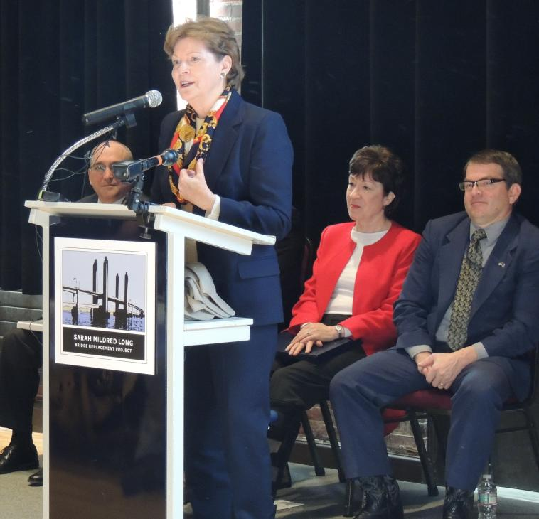 Senator Shaheen attended the ceremonial kick off marking the start of construction to replace the Sarah Mildred Long Bridge. Read more here: http://1.usa.gov/1FbzZox