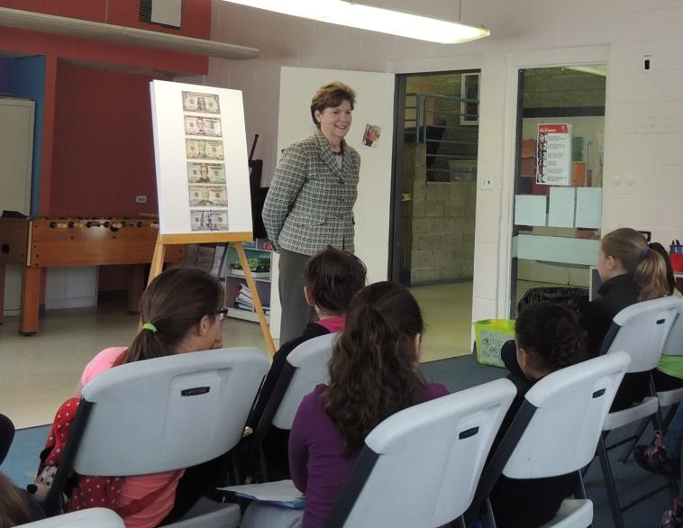 Senator Shaheen had a conversation with girls participating in Girls Inc. programs in Nashua about important women in U.S. history. She also discussed her recently introduced legislation that would finally have a woman represented on our paper currency, the Women on Twenty Act. Read more here: http://1.usa.gov/1PNFyin