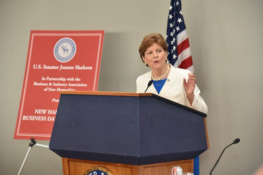 At New Hampshire Business Day, Senator Shaheen discusses federal programs, agencies, news of the day, and support for Granite State businesses with Senator Hassan, Senator Gardner, Margaret Brennan, FCC Commissioner Jessica Rosenworcel, EU Ambassador to the US David O'Sullivan, and Dr. Anthony Fauci of NIH.