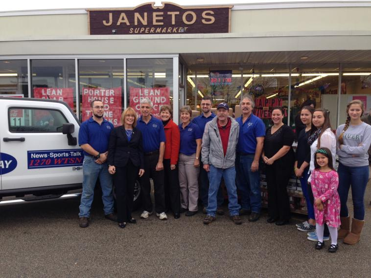 Senator Shaheen celebrated the 90th anniversary of Janetos Market is Dover. Janetos Market has been a staple of Dover since its founding in 1924 and employs 20 people.