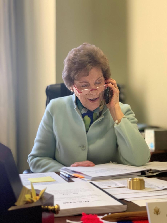 Senator Shaheen making calls to Hampton-Seabrook Harbor stakeholders