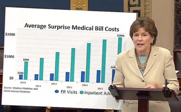 Shaheen on surprise medical billing